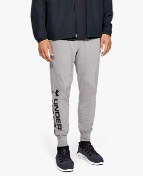 Men's UA Sportstyle Cotton Graphic Joggers