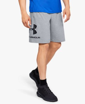 Shorts de Treino Masculino Under Armour Sportstyle Cotton Graphic
