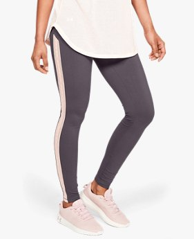 Calça Legging UA Taped Favorite Feminina