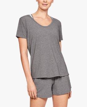 UAリカバリー スリープウェアショートスリーブ(スリープウェア/Tシャツ/WOMEN)