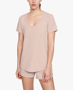 Women's UA RECOVER™ Sleepwear Short Sleeve Shirt