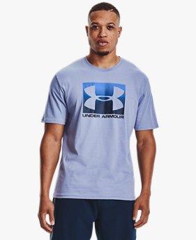 Heren T-shirt UA Boxed Sportstyle met korte mouwen