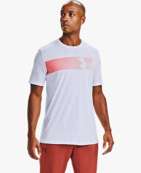 Playera de Manga Corta UA Fast Left Chest para Hombre