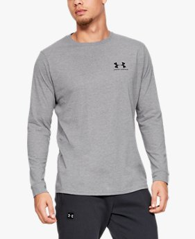 Men's UA Sportstyle Left Chest Long Sleeve