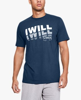 Men's UA I WILL 2.0 Short Sleeve