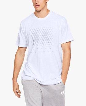 【アウトレット】UAブランド ビッグロゴ ショートスリーブ(トレーニング/Tシャツ/MEN)