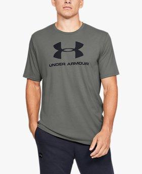 Herenshirt UA Sportstyle Logo met korte mouwen