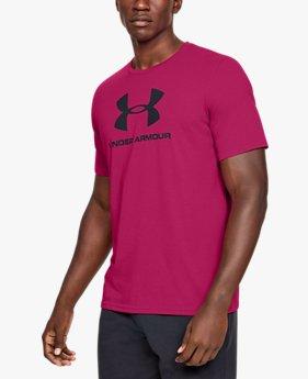 Maglia a manica corta UA Sportstyle Logo da uomo