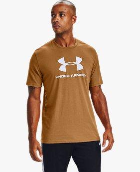 Erkek UA Sportstyle Logo Kısa Kollu