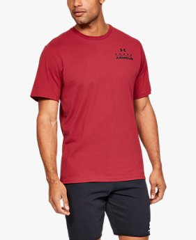 Men's UA Stacked Left Chest Short Sleeve
