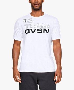 【アウトレット】UAショートスリーブ 〈TRAINING DIVISION〉(トレーニング/Tシャツ/MEN)