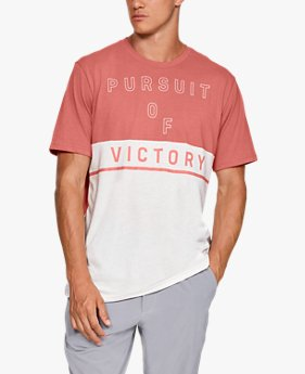 Playera de Manga Corta UA Pursuit Of Victory para Hombre