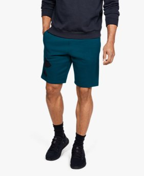 Men's UA Rival Fleece Logo Shorts
