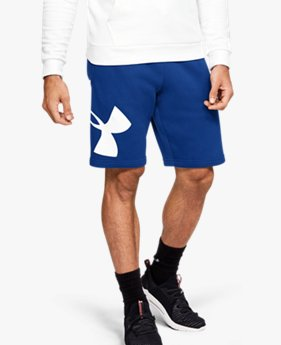 Short UA Rival Fleece Logo da uomo