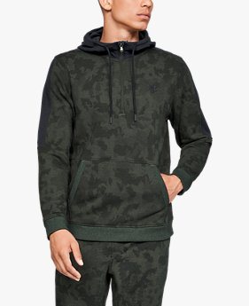 Men's UA Microthread Fleece Camo ½ Zip
