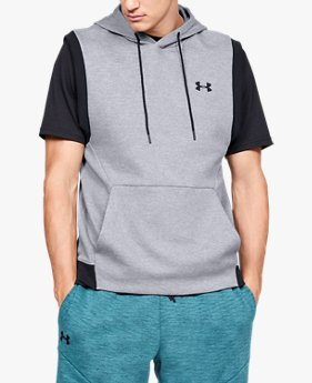 Men's UA Unstoppable Double Knit Sleeveless Hoodie