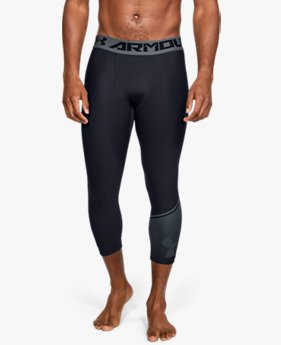Men's HeatGear® Armour ¾ Leggings