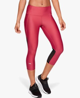 Women's HeatGear® Armour Capri Branded