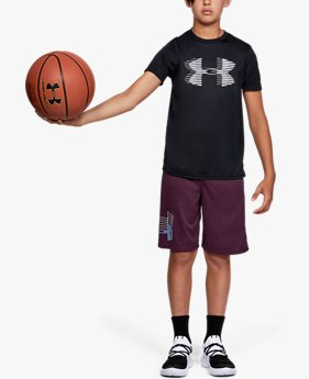 Boys' UA Tech™ Big Logo Solid T-Shirt