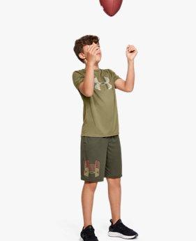 Jongens T-shirt UA Tech™ Big Logo Solid