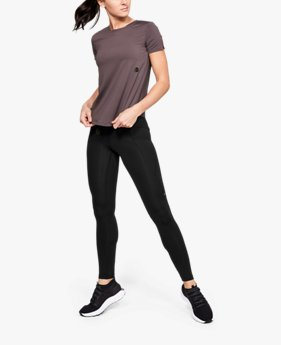Women's UA RUSH Run HeatGear® Short Sleeve