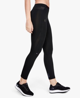 Leggings UA RUSH™ Run HeatGear® para Mujer