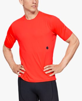 Men's UA RUSH™ Run Short Sleeve