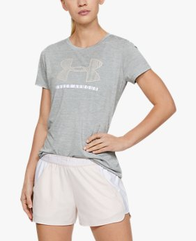 Women's UA Tech™ Twist Short Sleeve