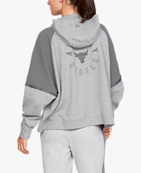 Hoodie UA x Project Rock para Mujer