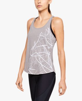 Women's UA Abstract Graphic Crossback Tank