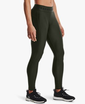 Women's HeatGear® Armour Branded Waistband Leggings