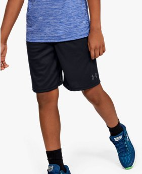 Shorts de Treino Infantil Masculino Under Armour Prototype Wordmark