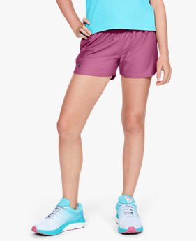 Shorts UA Play Up Infantil Feminino