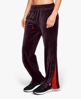 Women's UA Be Seen Velour Tear Away Pants