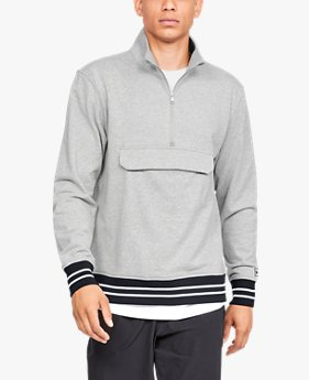 Men's UA Be Seen Terry ¼ Zip