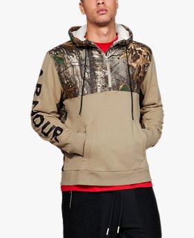 Men's UA Be Seen Camo ¼ Zip Hoodie