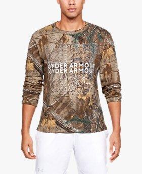 Men's UA Be Seen Camo Long Sleeve Graphic