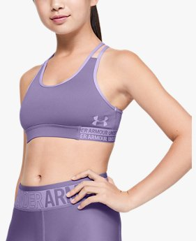 Girls' HeatGear® Armour Sports Bra