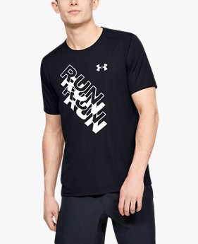 T-shirt UA International Run Day GX da uomo