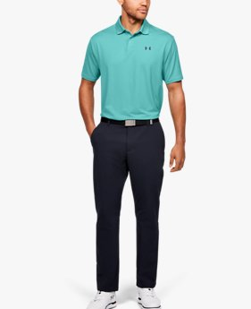 Polo UA Performance Textured pour homme