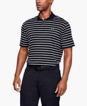 Playera Polo UA Performance Textured Stripe para Hombre