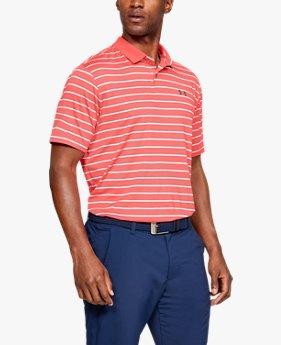 UAパフォーマンスポロ ディボットストライプ(ゴルフ/ポロシャツ/MEN)