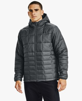 Veste à capuche UA Armour Insulated pour homme