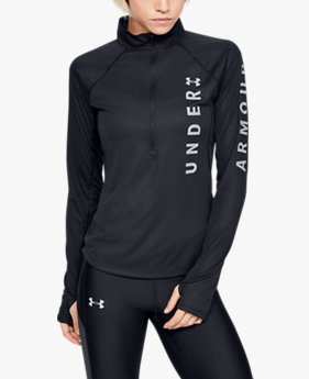 Women's UA Speed Stride Wordmark ½-Zip