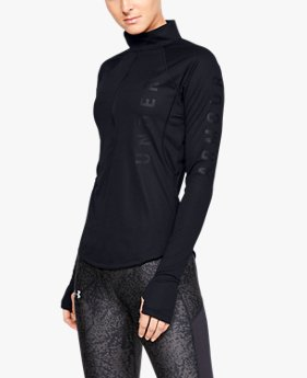 Women's UA Speed Stride Wordmark ½ Zip
