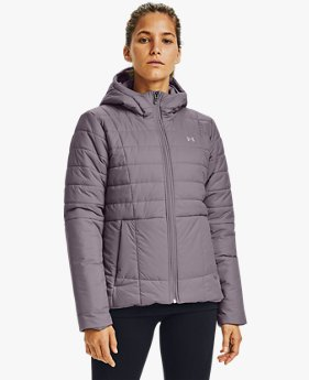 Giacca UA Armour Insulated Hooded da donna