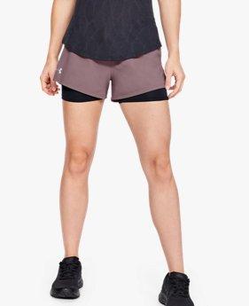 Women's UA Launch SW 2-in-1 Shorts