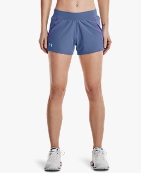 Damen UA Qualifier Shorts mit Speedpocket