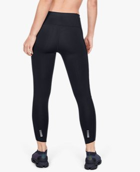 Damen UA Qualifier Roadside Runway Verkürzte Leggings mit Speedpocket