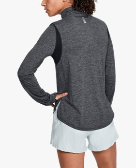 Women's UA Streaker 2.0 Heather ½ Zip